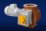 Применение червячных мотор-редукторов CM Transtecno для шлюзовых затворов. 3D видео